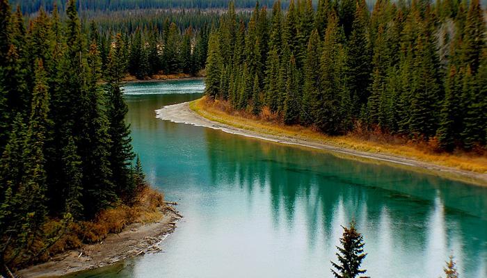 Rio Bow - Parque Nacional Banff